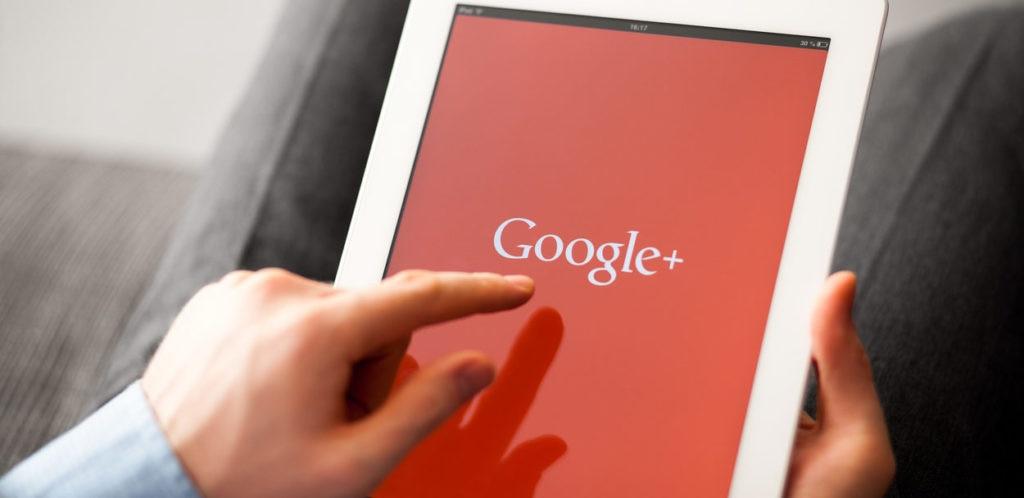 Google Plus on iPad bbva