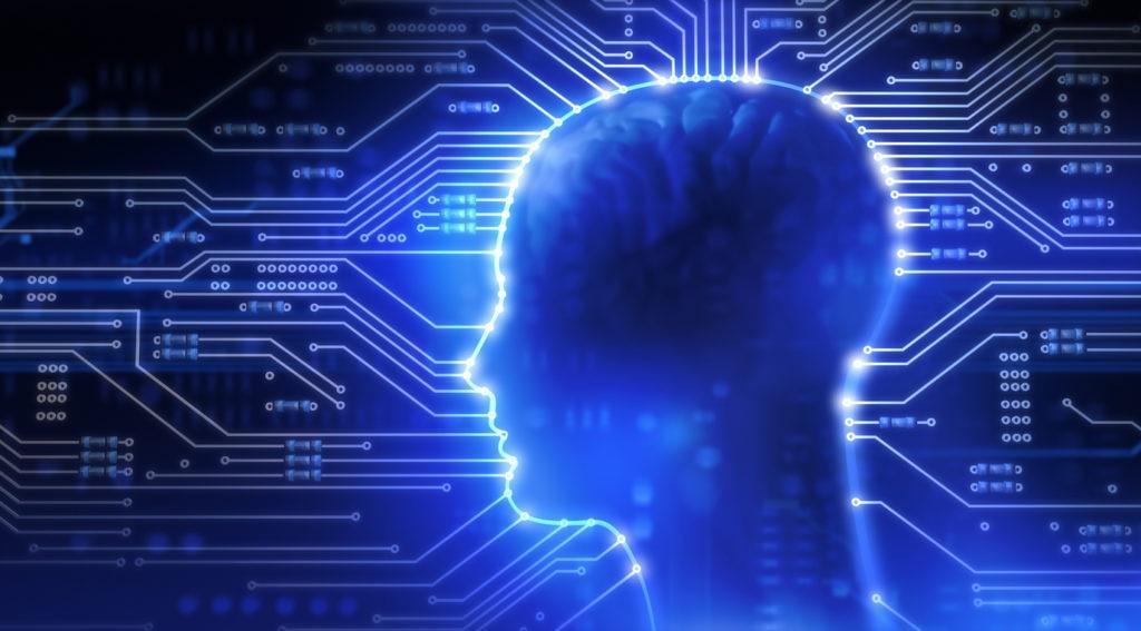 cabeza neuronal eléctrico chip inteligencia recurso bbva