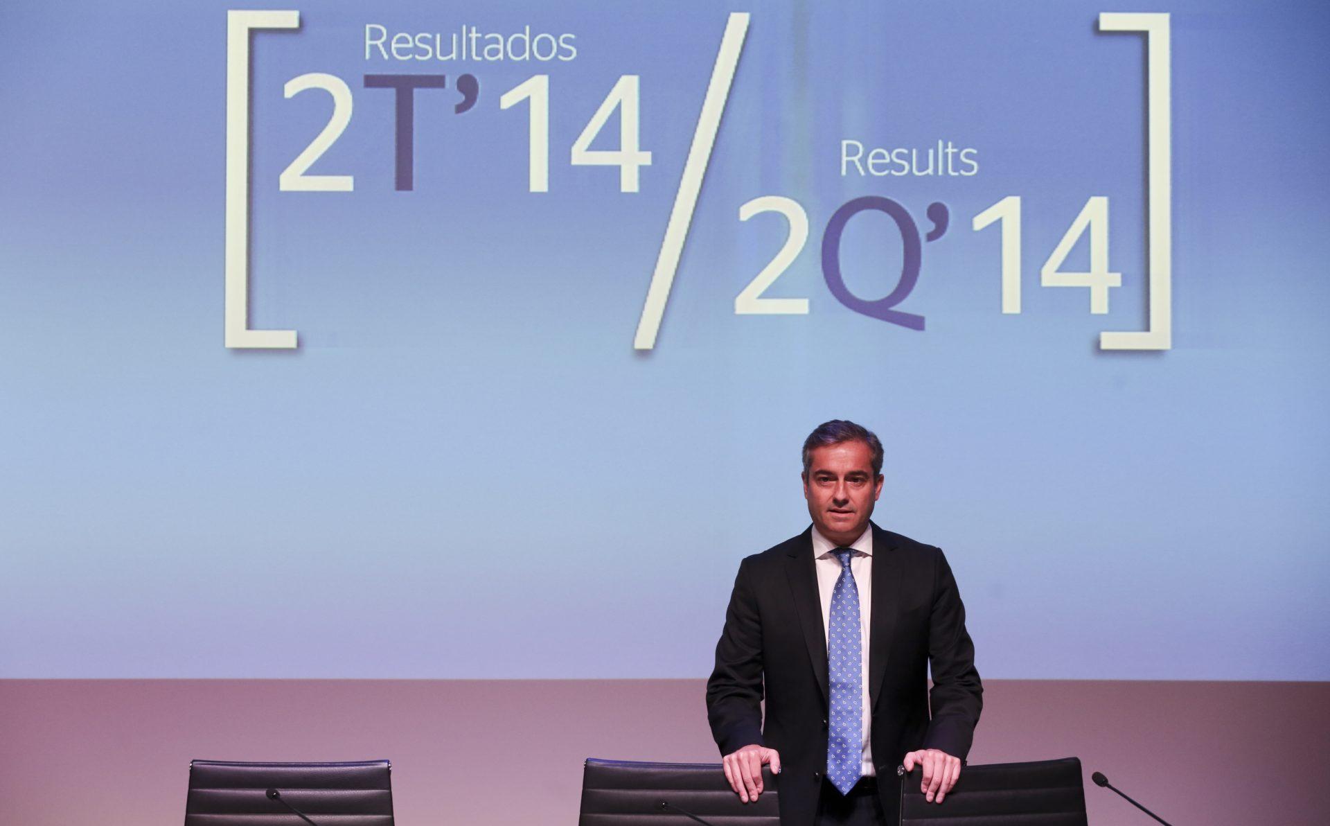 Fotografía Angel Cano presentación resultados BBVA 2T2014