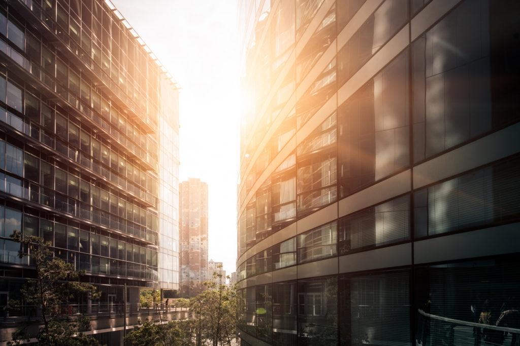 recurso edificio puesta de sol bbva