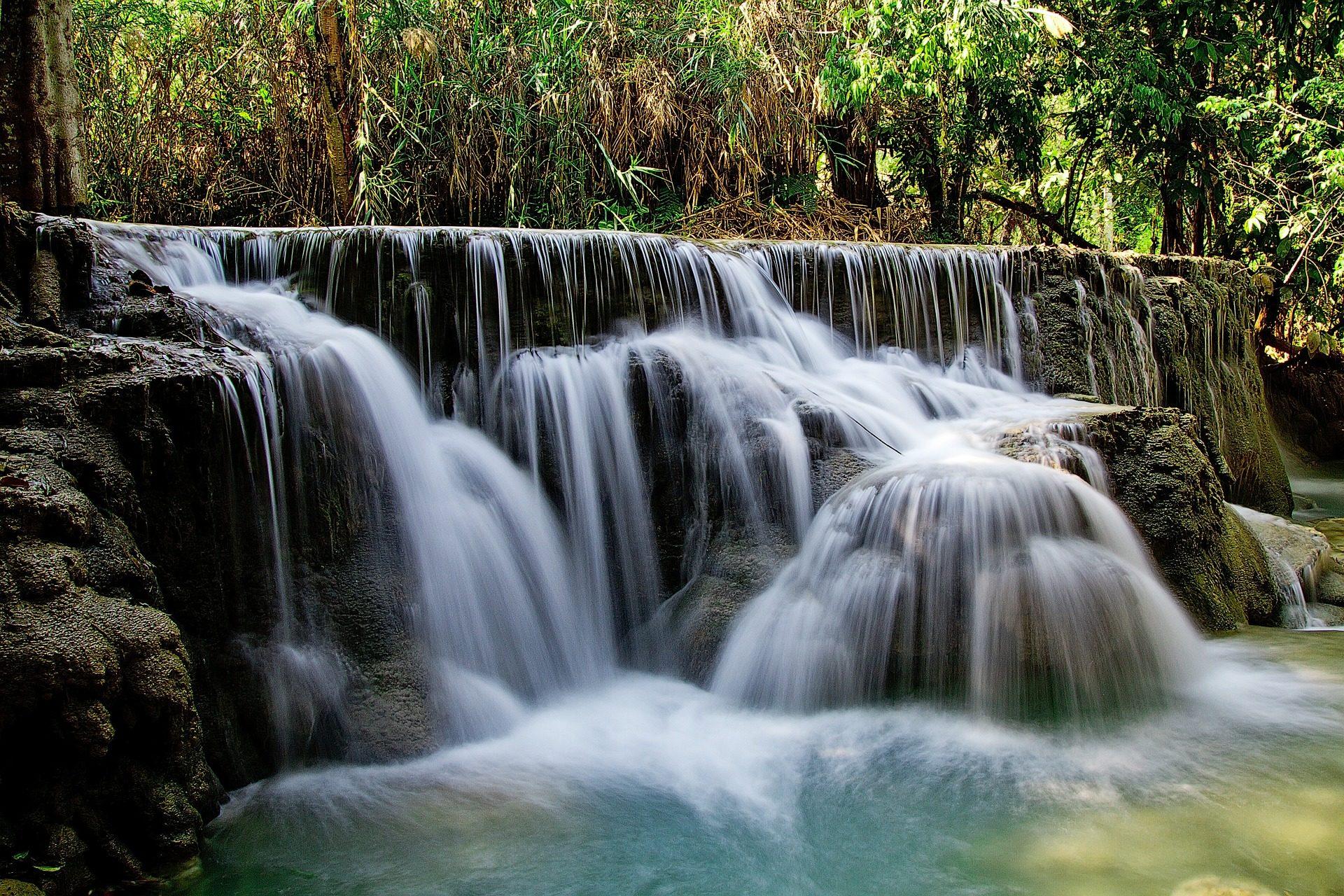 cascada agua naturaleza recurso