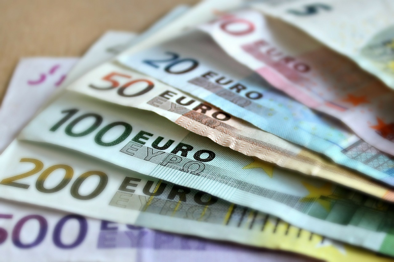 bank-note euros recurso billetes dinero