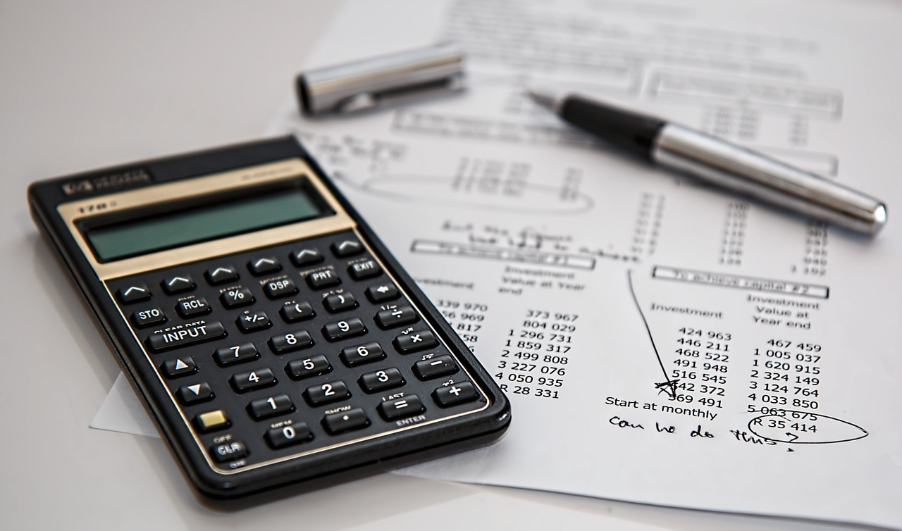 Nomina recurso calculadora cuentas balance