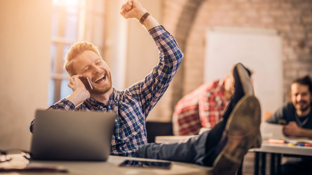 emprender felicidad logro conseguir hombre recurso bbva
