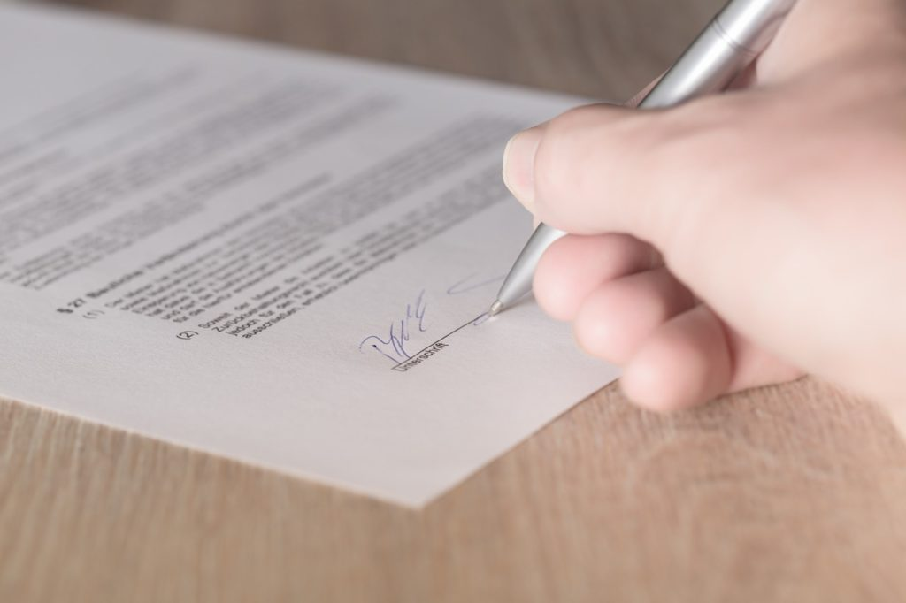 firma de contrato préstamos hipoteca recurso
