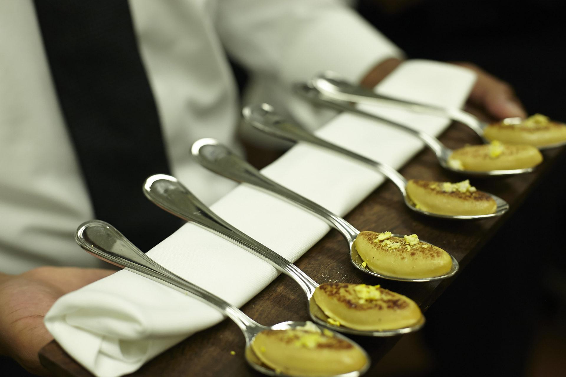 Fotografía Cena del 14 de agosto en el restaurante Pangea de Monterrey, México, durante la Gira BBVA-El Celler de Can Roca