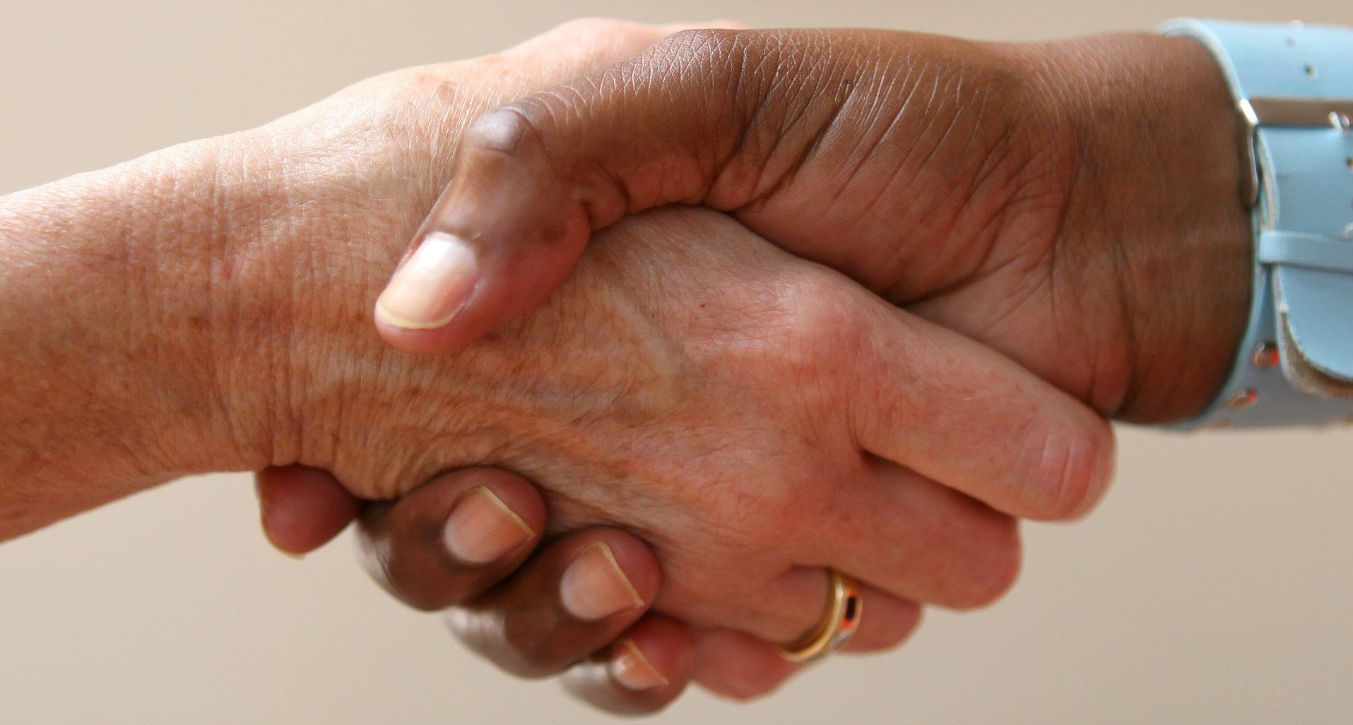 negocio negociación manos RECURSO
