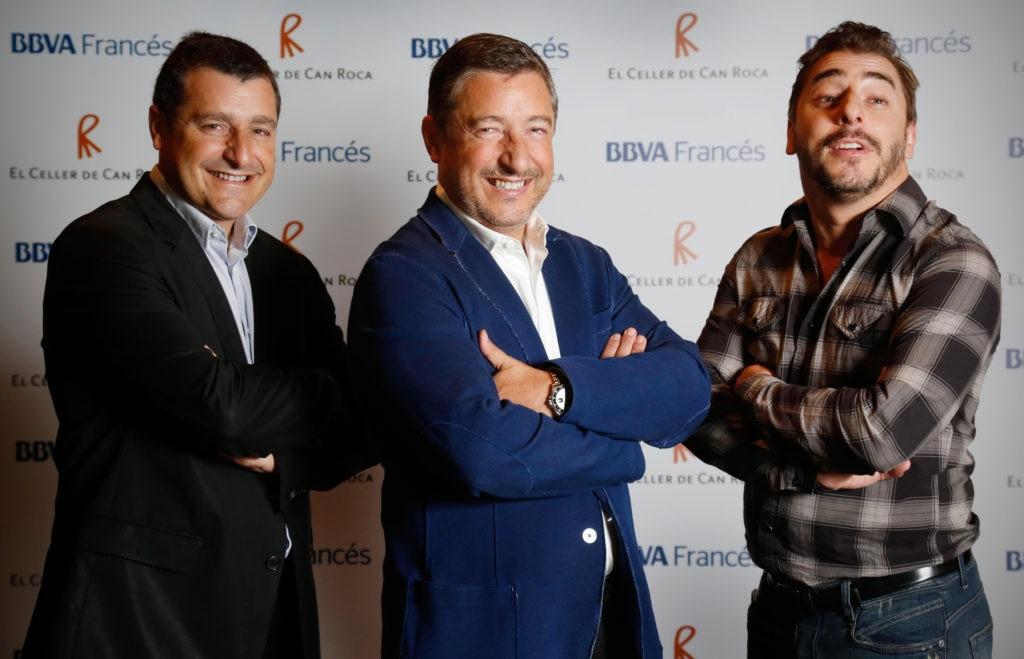 Fotografía 2 Hermanos Roca Celler de can Roca en Argentina Gira 2015