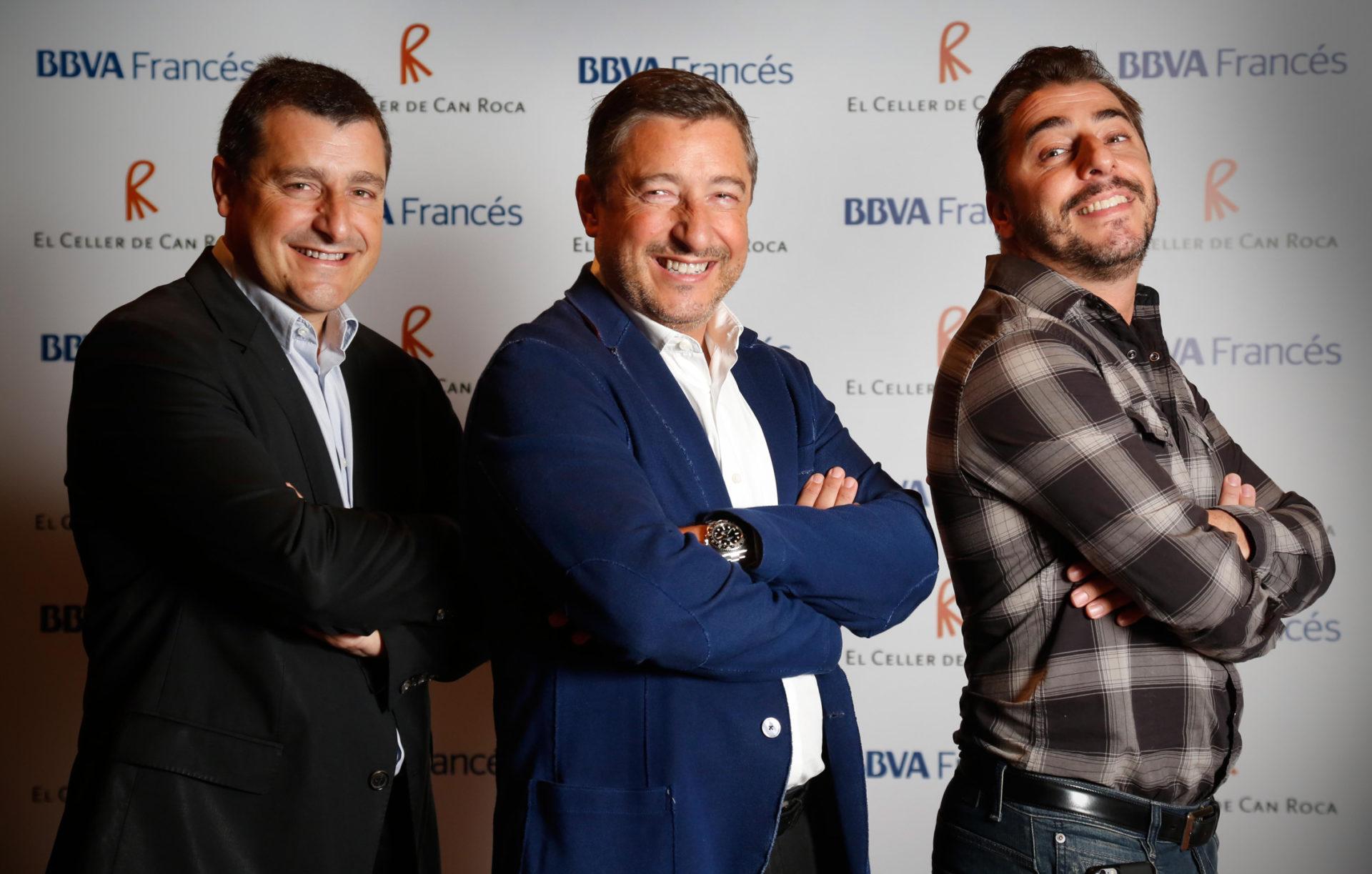 Fotografía de los hermanos Roca Celler de can Roca en Argentina Gira 2015 BBVA