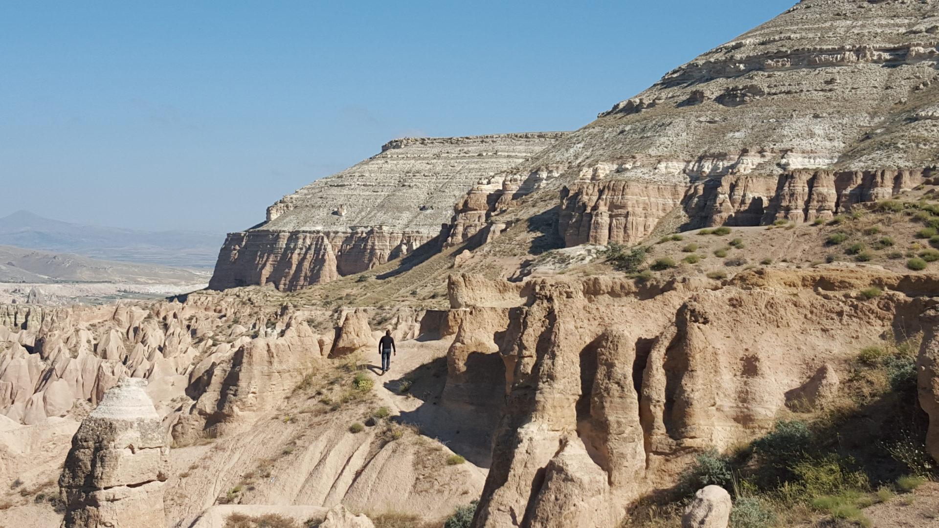 Fotografía de un paisaje de la Capadocia, Turquía, durante un viaje de Jordi Roca