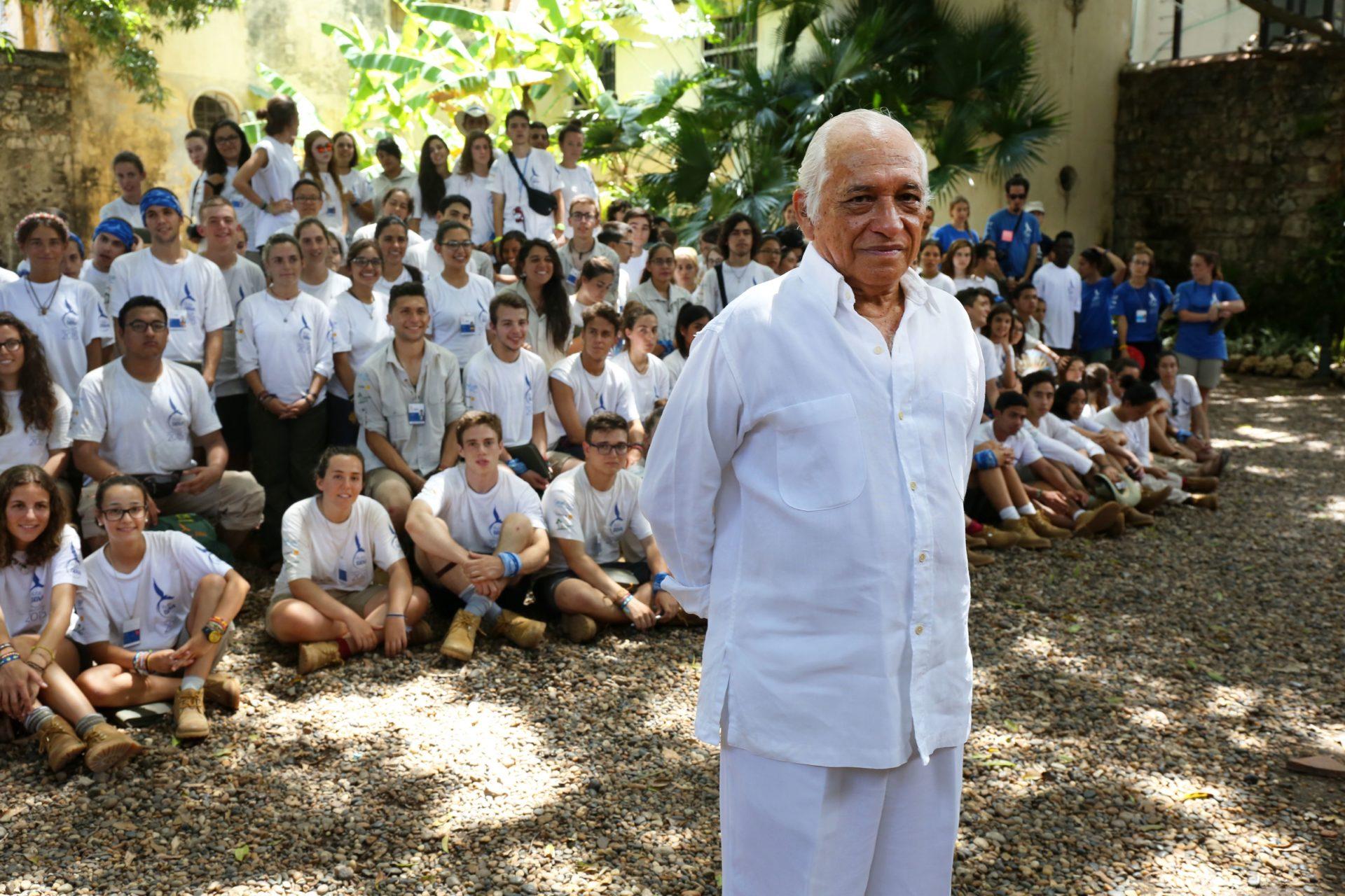 La expedicion de Ruta BBVA 2015 estuvo con Jaime García Márquez hermano del Premio Nobel