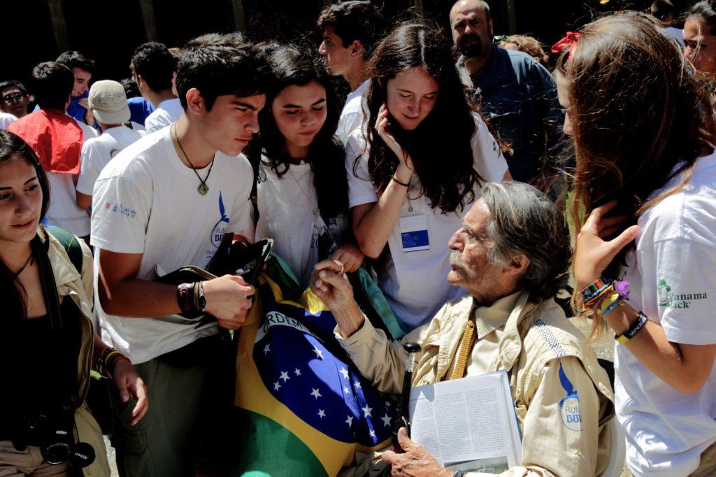 Miguel de la Quadra Salcedo y expedicionarios Ruta BBVA 2014