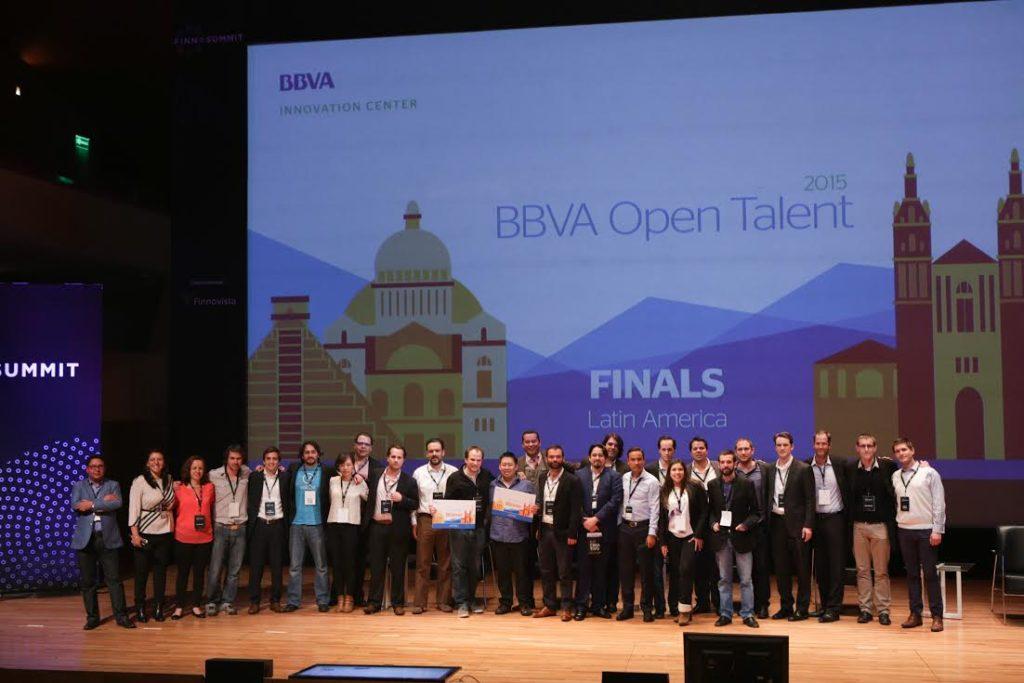 Finalistas de la edición BBVA Open Talent Latinoamérica 2015