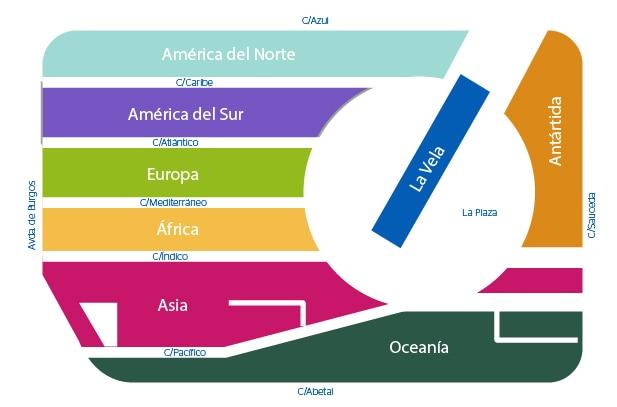Mapa Ciudad BBVA