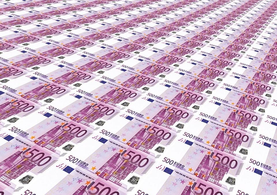 billetes dinero recurso