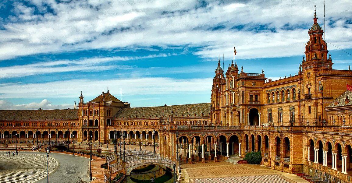 Plaza España Sevilla Spain Recurso Foto Turismo Andalucía
