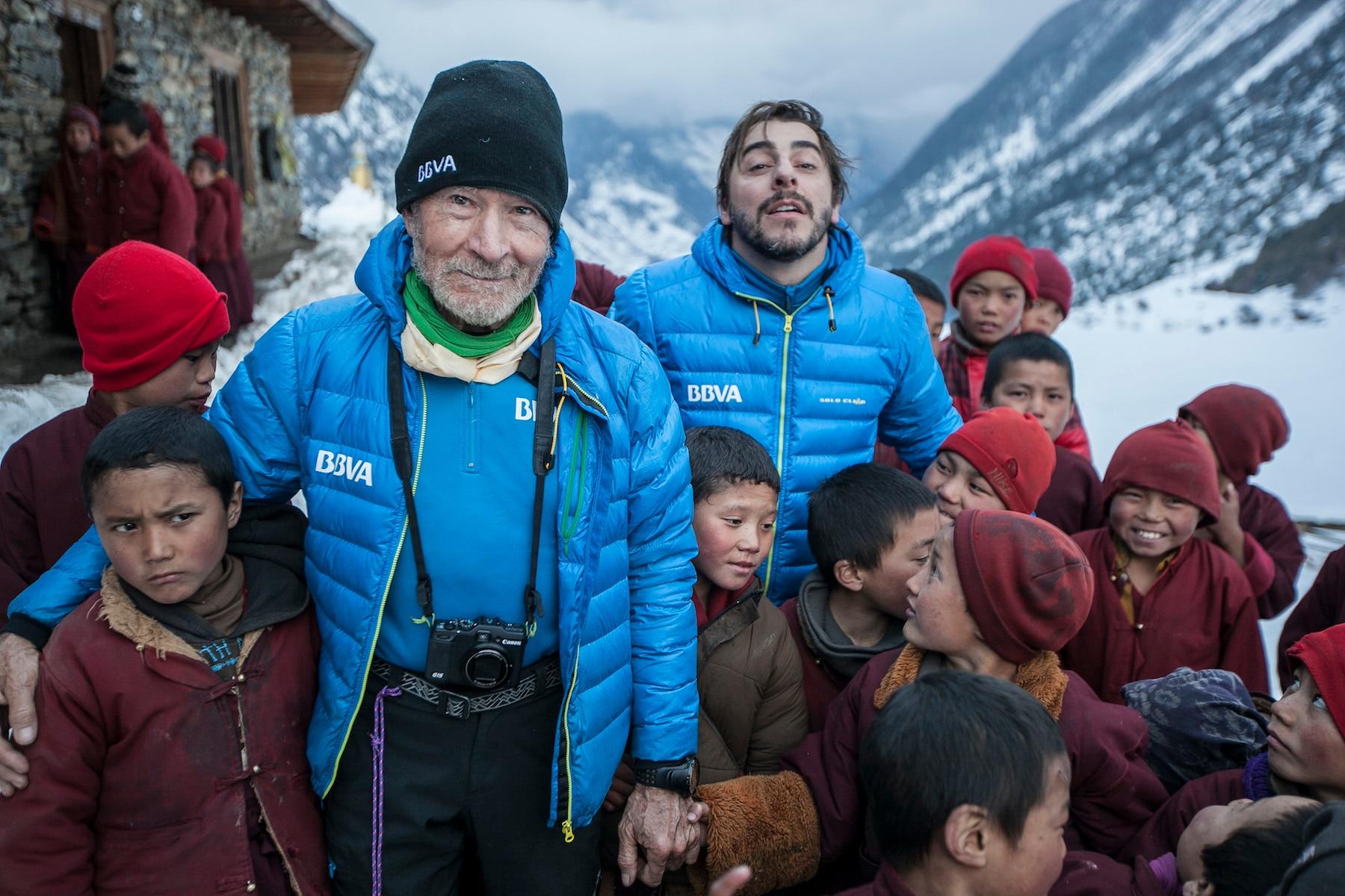 Carlos Soria y Jordi Roca, presentan 'El Heladero del Himalaya'