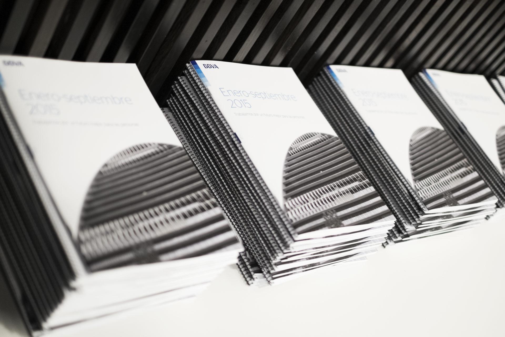 Fotografía Presentación de resultados e informes 3T15 en CAMPUS BBVA