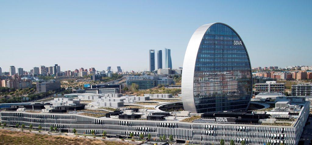 Fotografía Vista aérea de la Ciudad BBVA
