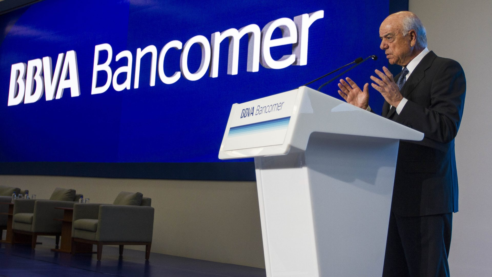 Francisco González Reunión Nacional Consejeros BBVA Bancomer