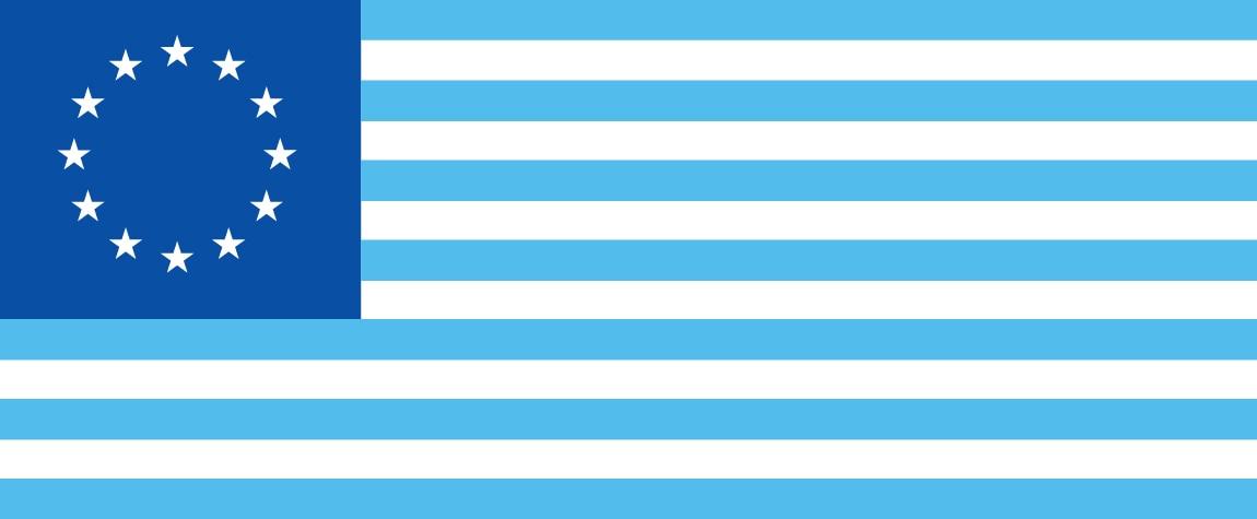 Fotografía Bandera Asociación Transatlántica de Comercio e Inversión entre Europa y Estados Unidos TTIP ventas empresas organismos internacionales tratado BBVA