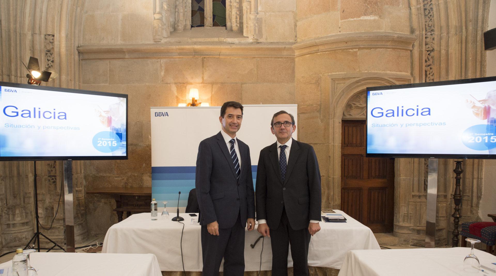 Rafael Domenech y Juan Carlos Hidalgo Informe Situación Galicia 2S15