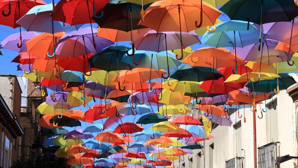 Recurso vida y cultura paraguas