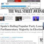 Así ve la prensa internacional las elecciones de España