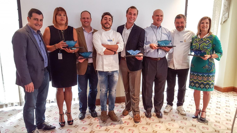 Concurso de repostería organizado entre los empleados de BBVA Compass en Birmingham