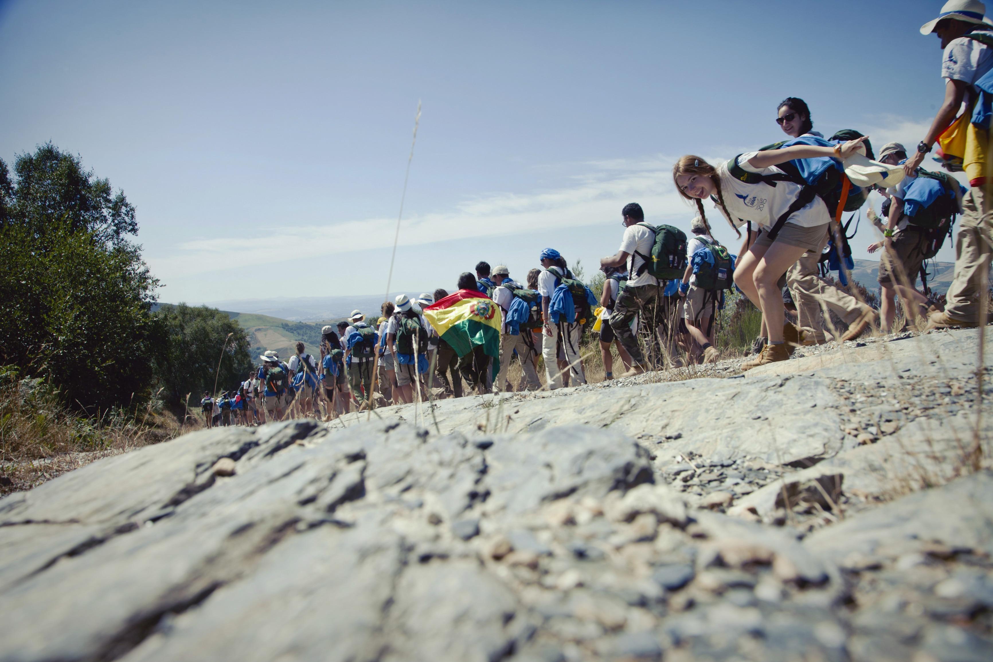 Ruta BBVA 2015 marcha camino de santiago