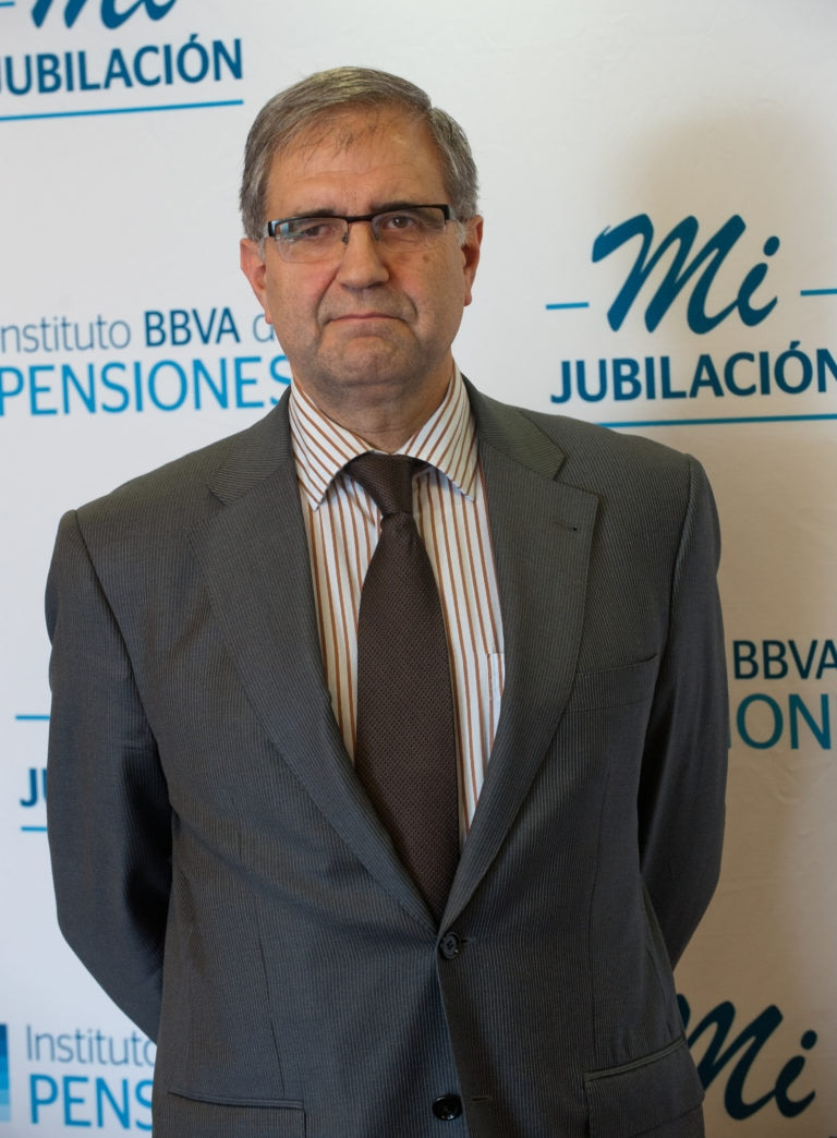 Fotografía de José Antonio Herce, presidente del Foro de Expertos del Instituto BBVA de Pensiones