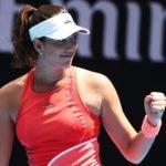 Fotografía Garbiñe Muguruza logra la victoria en primera ronda del Open de Australia contra la estonia Anett Kontaveit