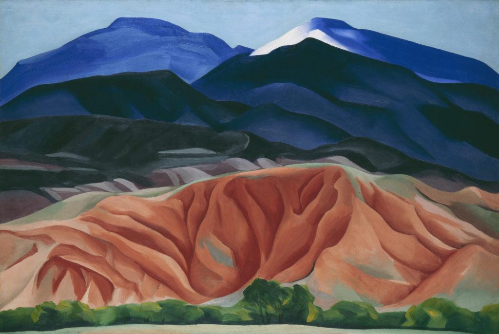Imagen de la obra Black Mesa Landscape de Georgia O'Keffe