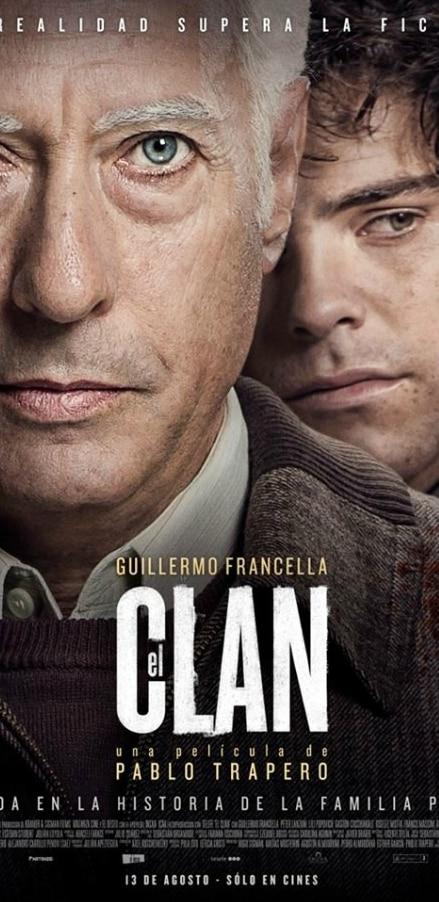 Fotografía del cartel de la película 'El Clan'. BBVA