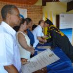 Entrega de becas en Tumaco BBVA