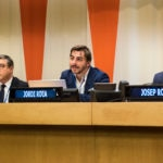 New York - UN Secreteriat. Monday January 18th 2016. After being appointed Goodwill Ambassadors, the Roca Brothers attend a meeting, at the UN screteriat to talk about sustainable food. © Freya Morales/ UNDP