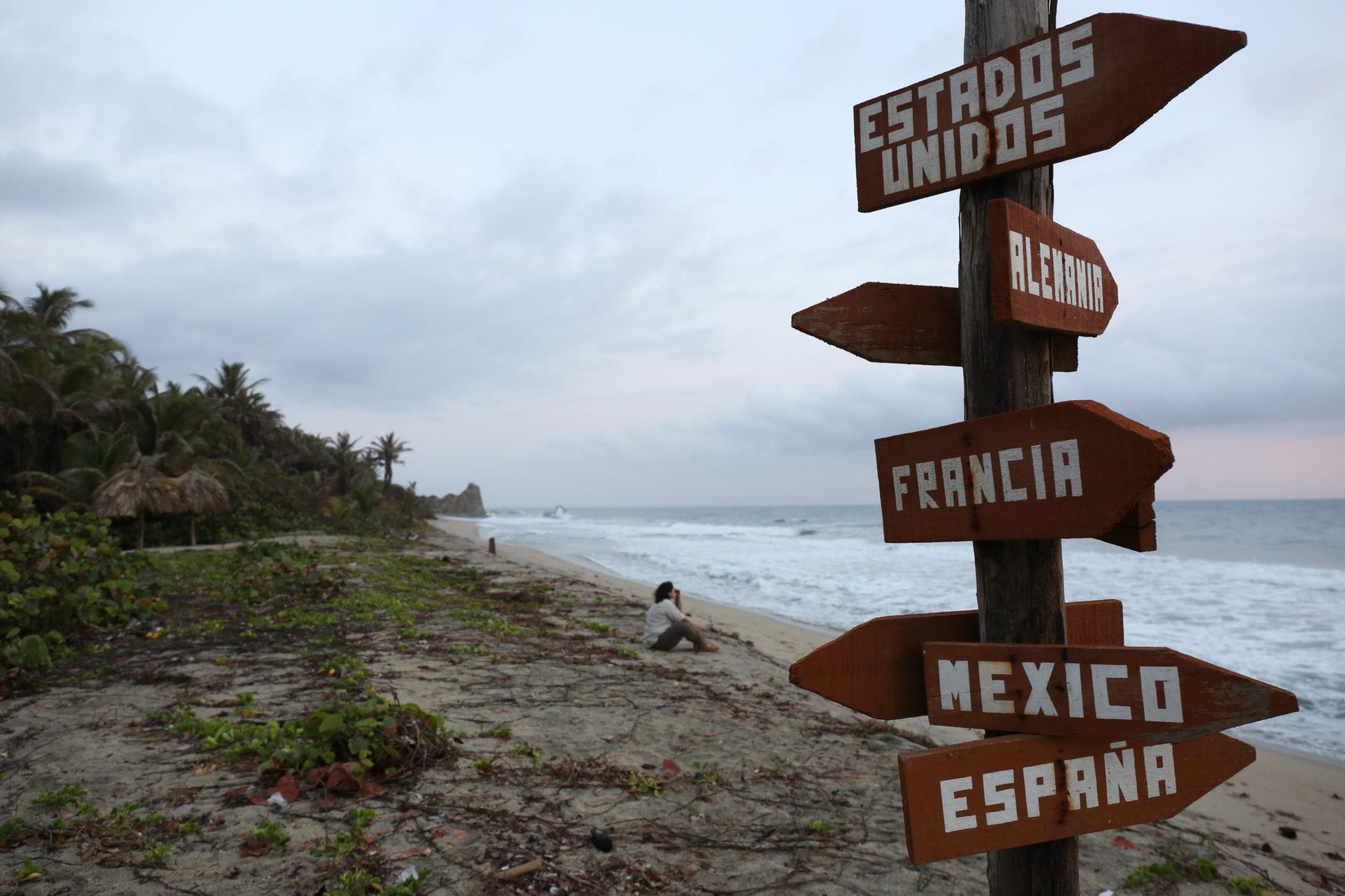 Fotografía de la Ruta BBVA 2015 en el Parque de Tayrona (Colombia)