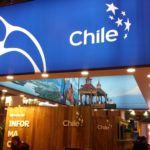 Fotografía de el stand de Chile en Fitur 2016 BBVA