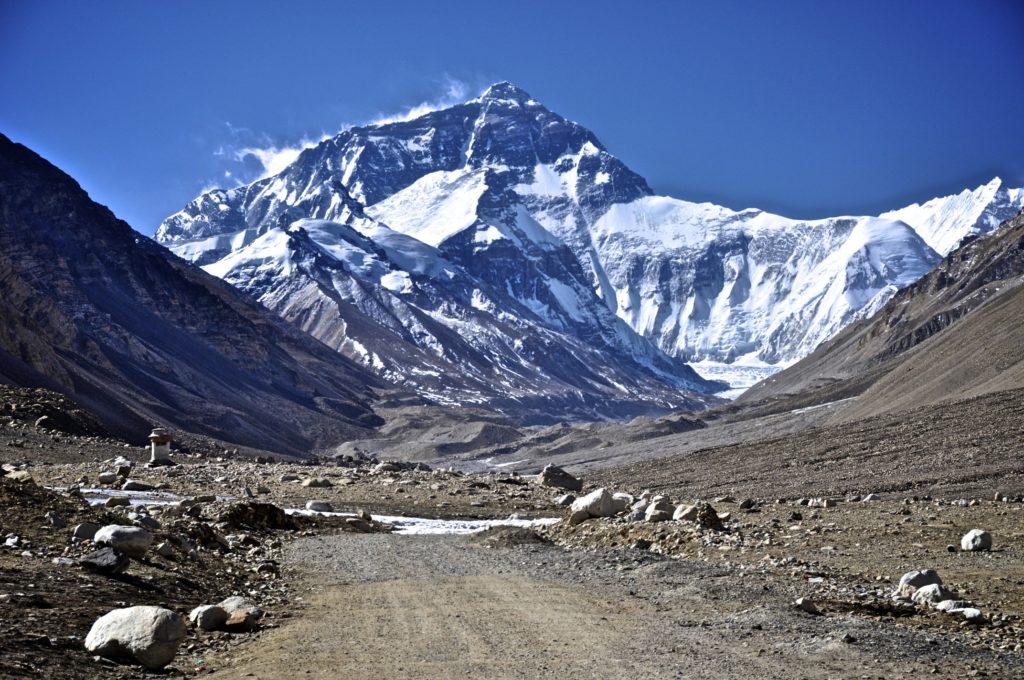 Fotografía Vista del Everest, la montaña más alta de la Tierra