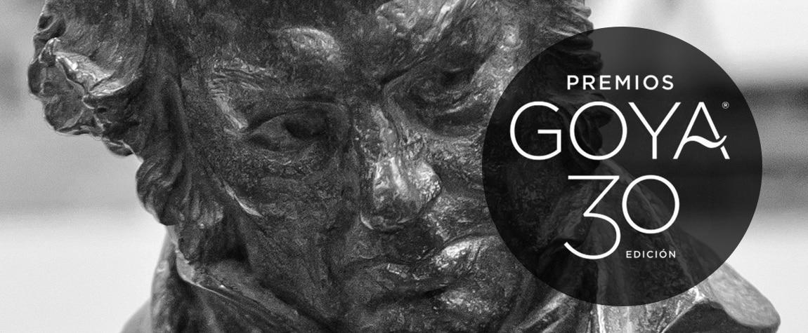 Fotografía de la estatuilla de los Goya. BBVA