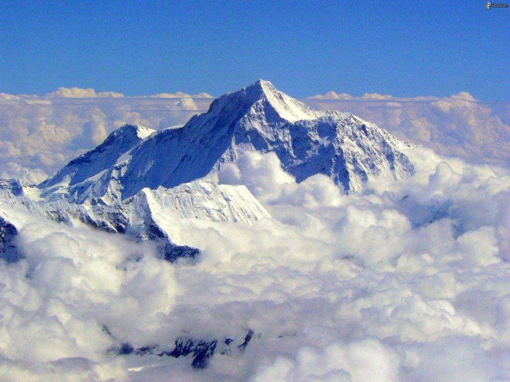 Fotografía monte Everest, montaña más alta de la Tierra
