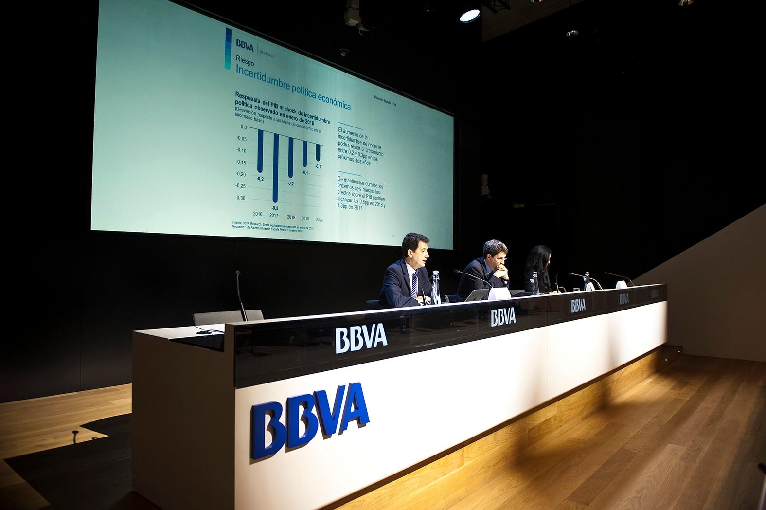 Rueda de prensa BBVA Research 'Informe Situación Económica de España'