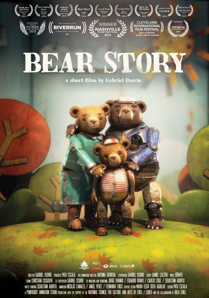 Imagen de Bear Story Cartel Oscar