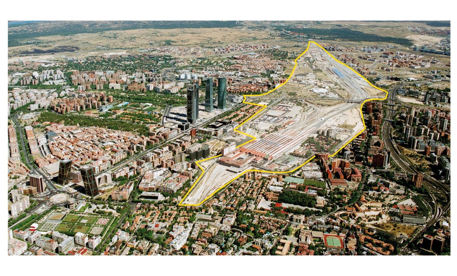 Distrito Castellana Norte_mapa