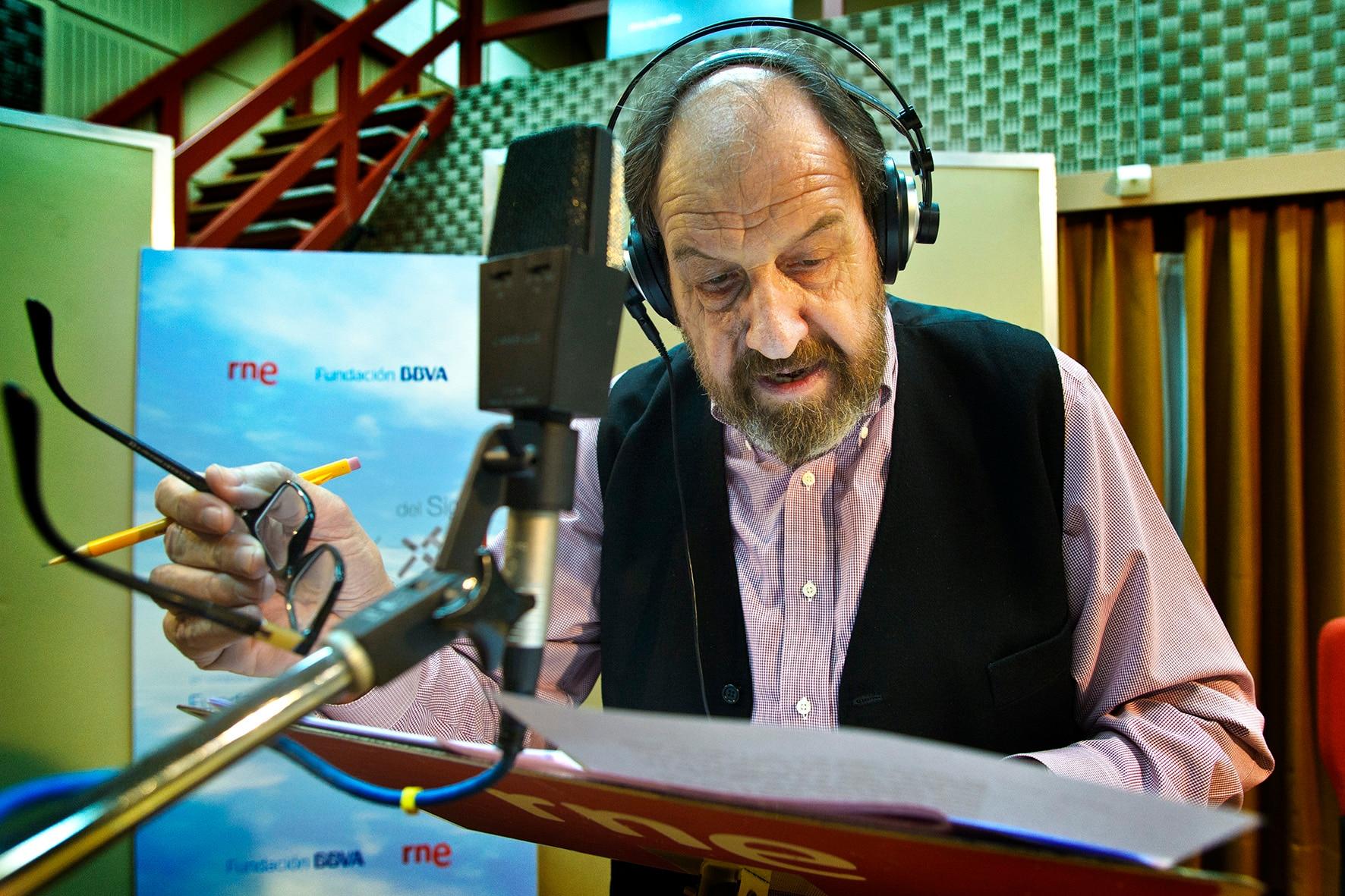 Fotografía de José María Pou interpretando a Don Quijote