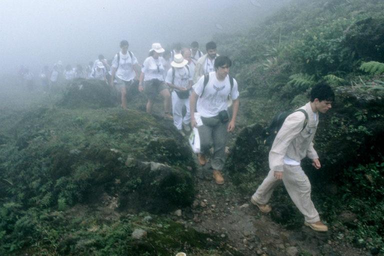 Fotografía: Expedición 1993: Expedición a las Hibueras (Chiapas, México)