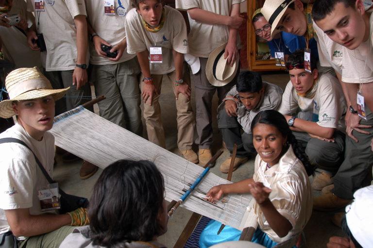 Fotografía: Expedición 2004: Pueblo de Angahuan y la comunidad indígena de Purepecha (Michoacán, México)