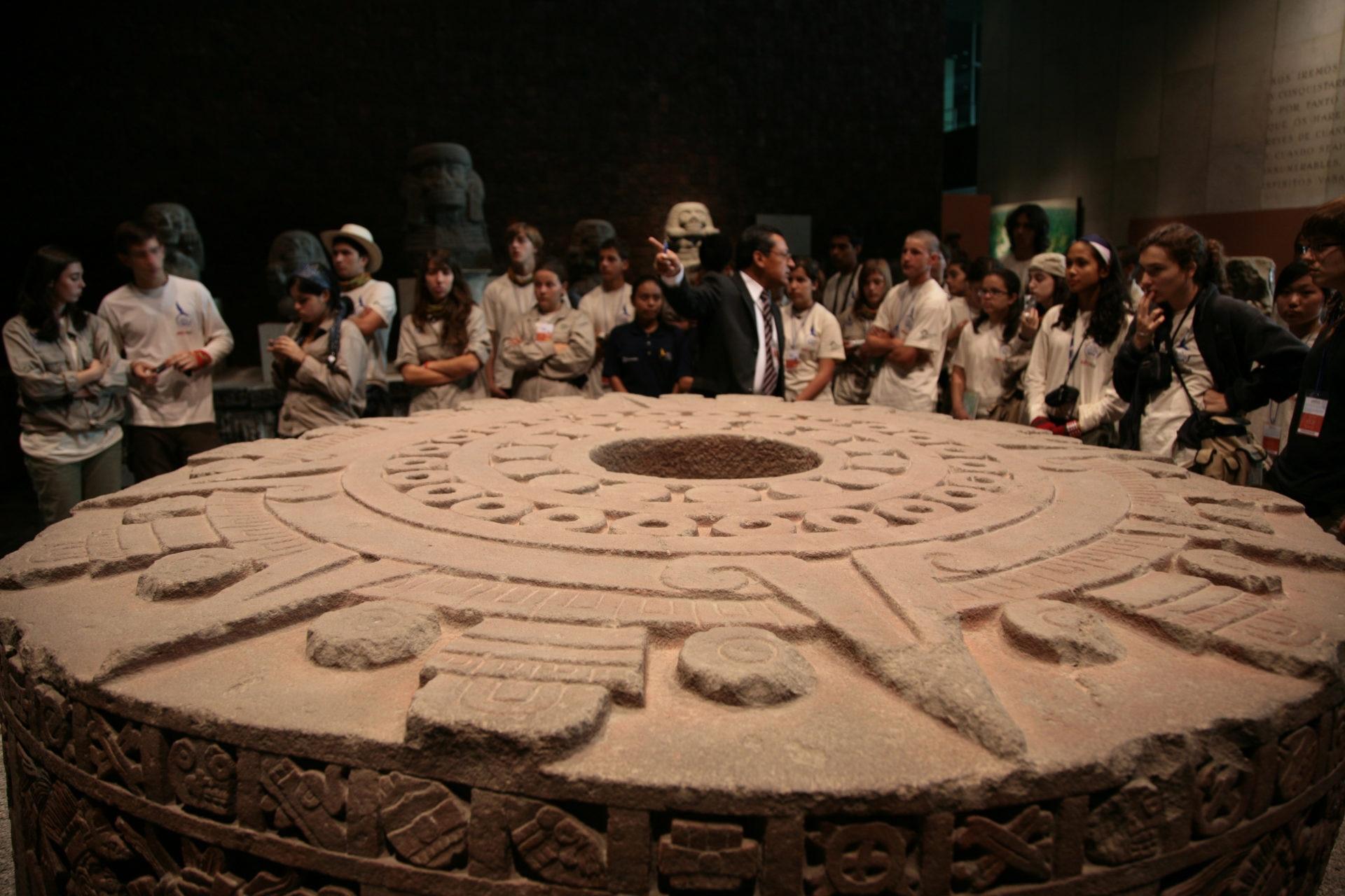 Fotografía: Expedición 2007: La Huella de la Nao de la China en México (Museo Nacional de Antropología, México DF)
