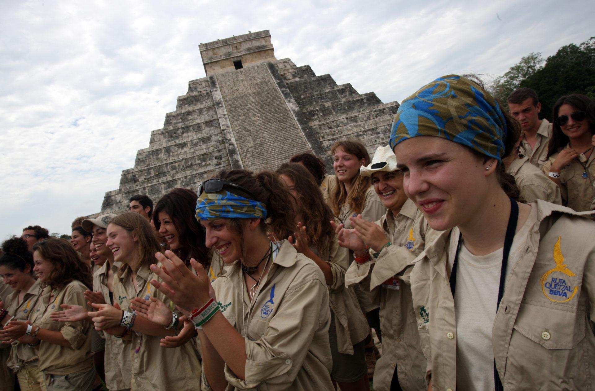 Fotografía: Expedición 2010: El Misterio de los Caminos Blancos Mayas (Chichén Itzá, México)