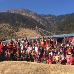 Fotografía: Escuela de Lwasa una vez finalizadas las labores de reconstrucción de Ayuda Directa Himalaya